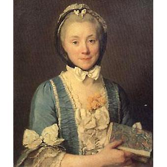 Madame Lenoir mère d'Alexandre Lenoir, Joseph-Siffred Duplessis