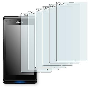 Sony Xperia L screen protectors - Golebo crystal clear protection film