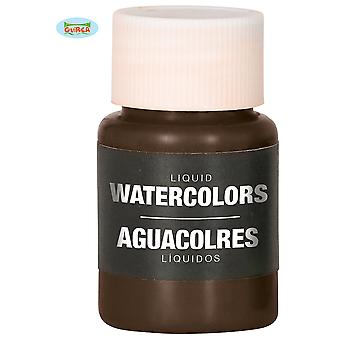Maquillage et cils liquide eau maquillage brun 28ml