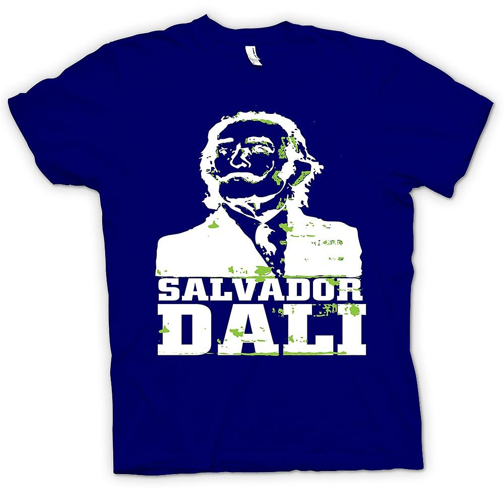 Mens T-shirt - Salvador Dali Portrait - Surreal Art