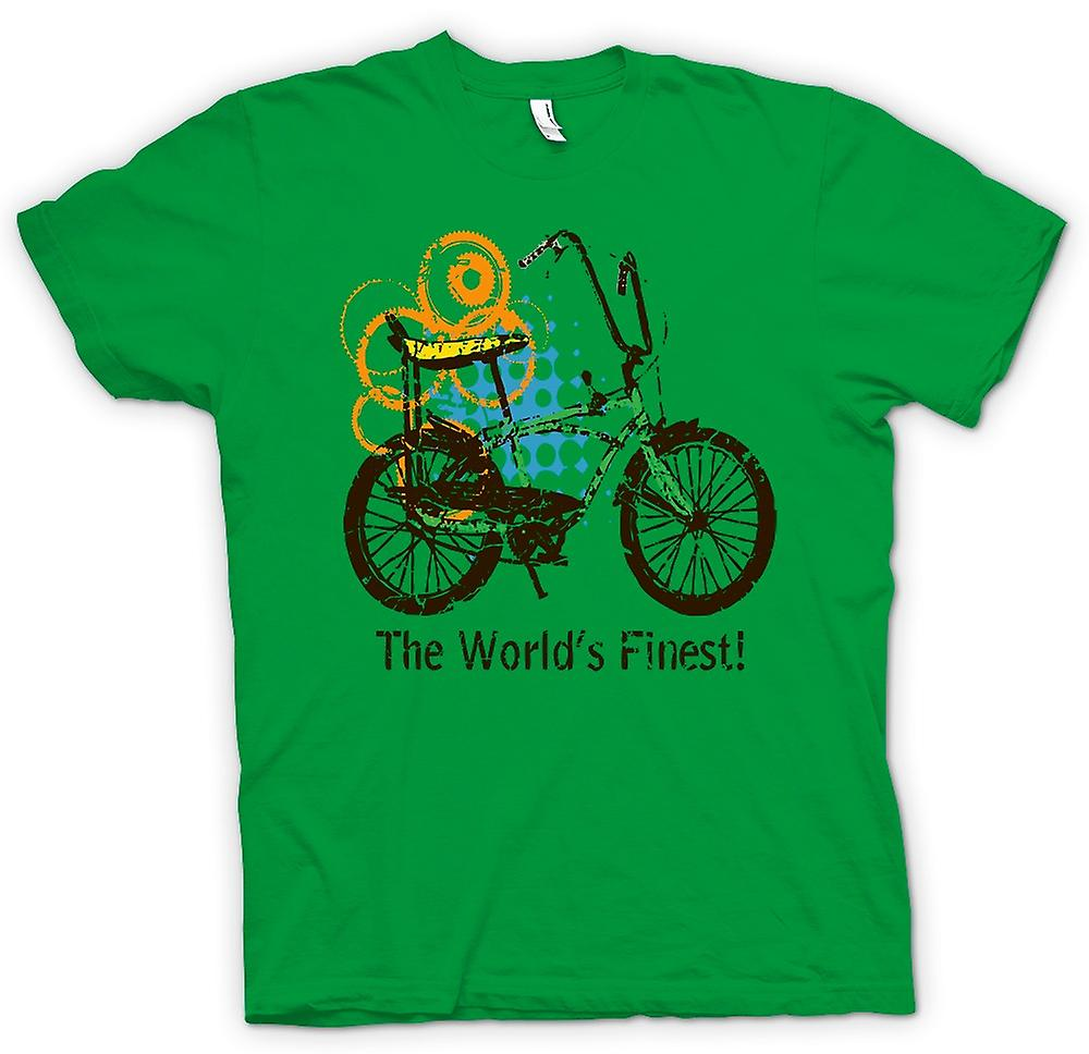 Mens T-shirt-Chopper Bike - weltbesten - lustige Grafik-Design