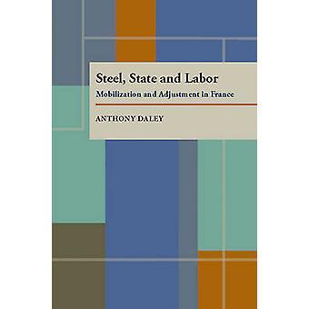 Acier - état et Labor - mobilisation et ajustement en France par Ant