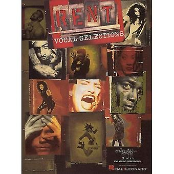 Rent: Vocal Selections (Essential Musicals)