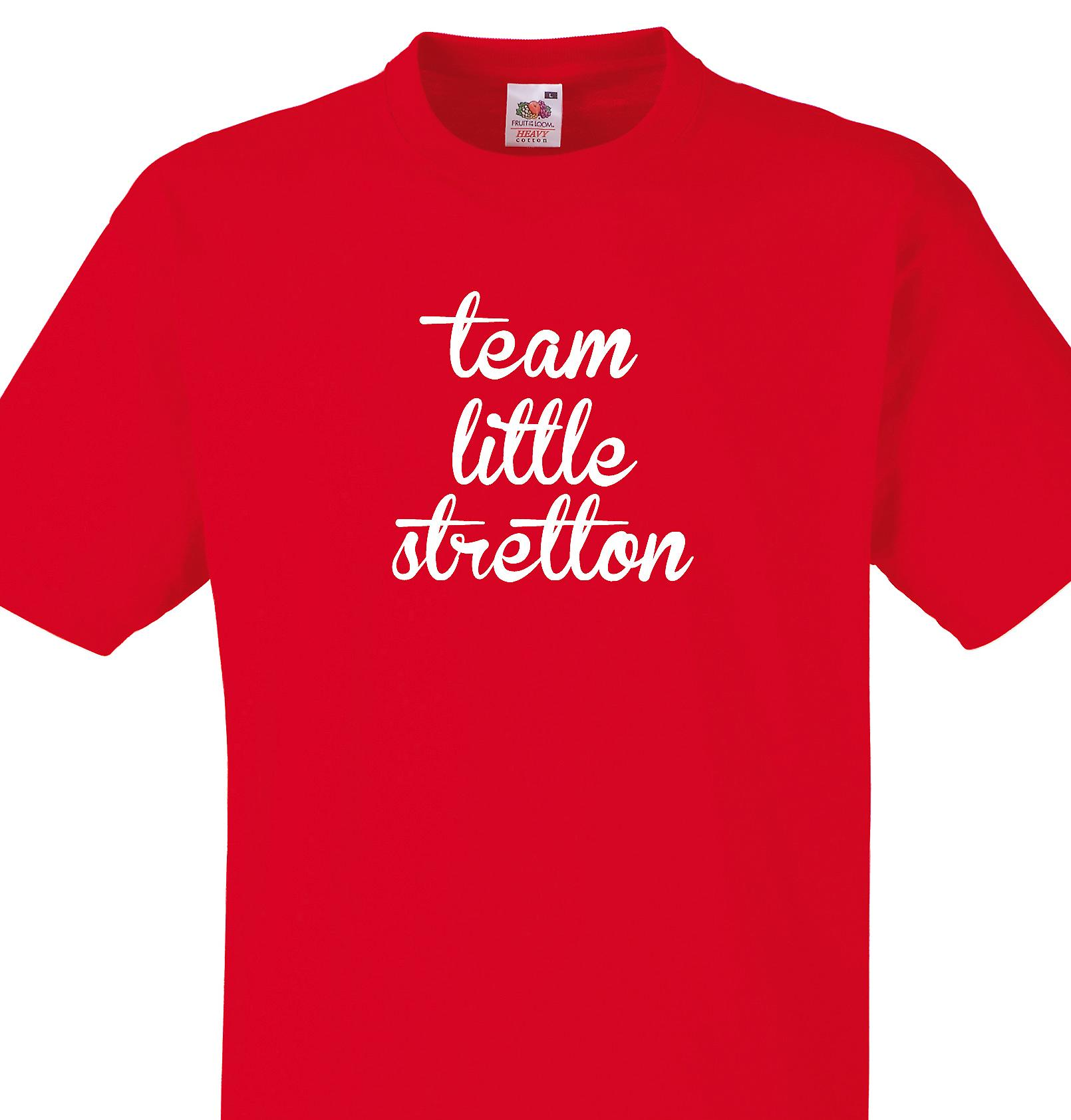 Team Little stretton Red T shirt