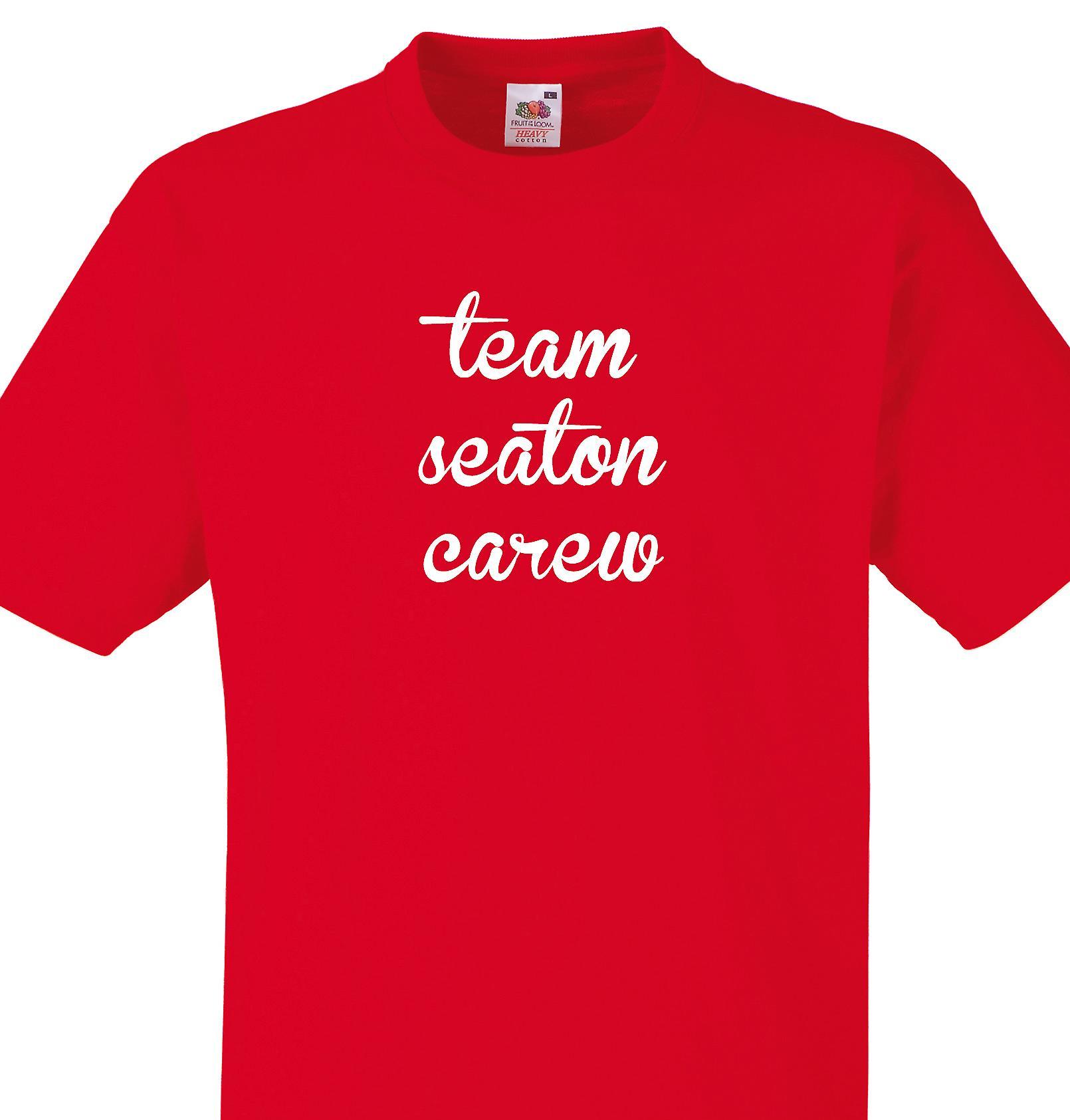 Team Seaton carew Red T shirt
