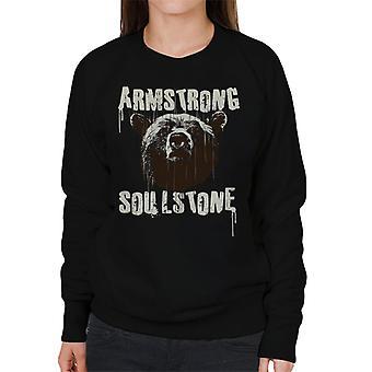 Bjørne hovedet kvinders Sweatshirt