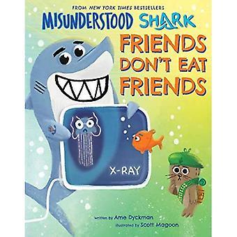 Missförstådda haj: Vänner äter inte vänner