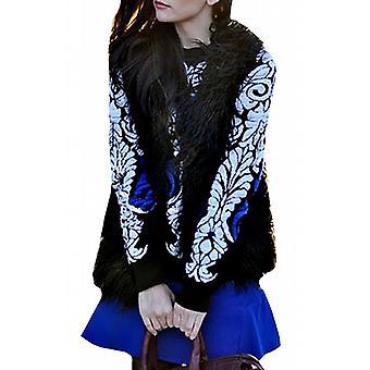 Waooh - zestaw sweter spódnica barokowy motyw Wena