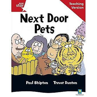 Nästa dörr husdjur: Röd nivå (Rigby stjärna guidad)