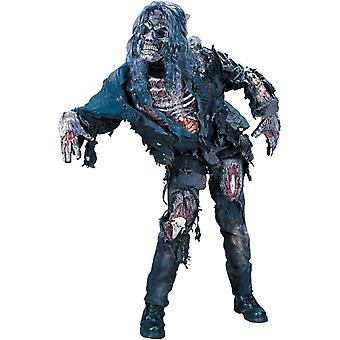 Zombie Halloween Adult Costume
