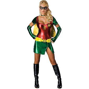 Robin weiblichen Erwachsenen Kostüm