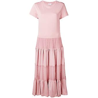 Red Valentino Pink Cotton Dress