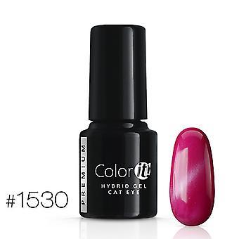 Gel Polish-kleur het Premium-Cat Eye-* 1530 UV gel/LED