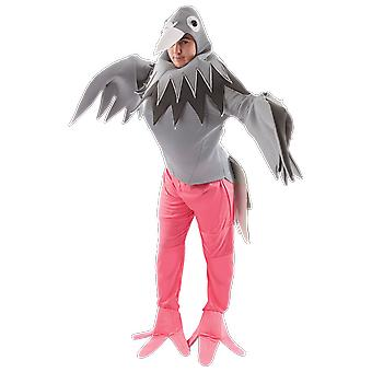 Adult Pigeon Bird Funny Novelty Animal Halloween Party Fancy Dress Costume