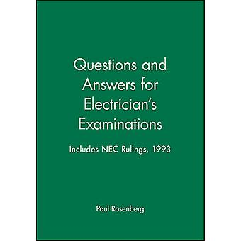 Questions and Answers for Electrician's Examinations - Includes NEC Ru