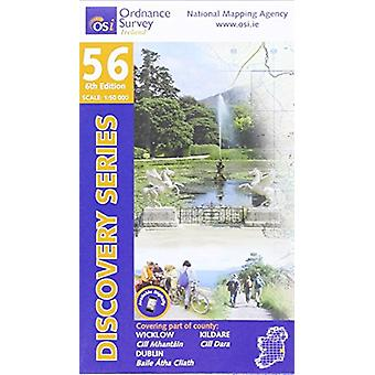 Dublin - Wicklow Kildare (6th Revised edition) by Ordnance Survey Ire