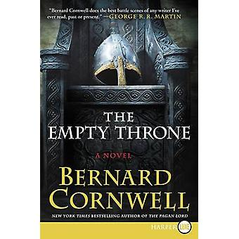 The Empty Throne LP (large type edition) by Bernard Cornwell - 978006