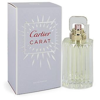 Cartier Carat by Cartier Eau De Parfum Spray 3.3 oz / 100 ml (Women)