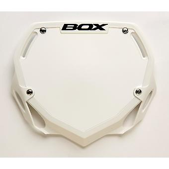 Box Phase 1 Number Plate White