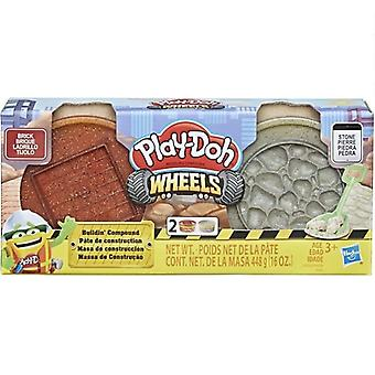 Play-Doh wheels, Bulidin compound-Brick & Stone
