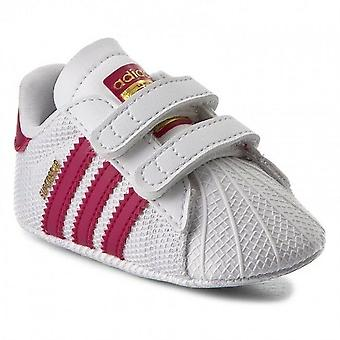 Zapatos Adidas Originals Superstar cuna bebé niña - S79917
