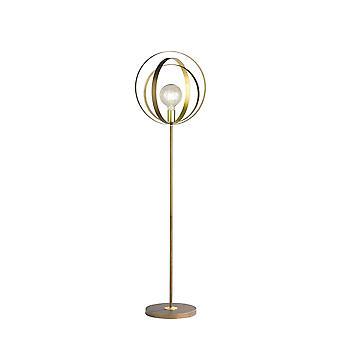 Wofi Cordoba - 1 Lampe de plancher léger Brun - 3874.01.23.8000