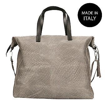 Handbag made in leather 80058