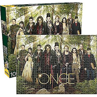 Once Upon A Time Cast 1000 piece jigsaw puzzle  690mm x 510mm    (nm)