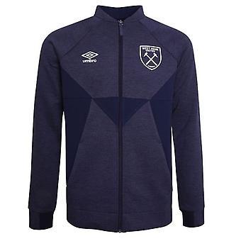 2019-2020 West Ham Presentation Jacket (Evening Blue) - Kids