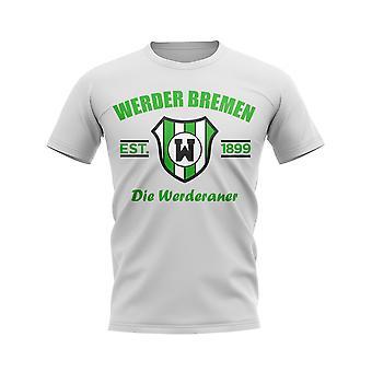 Werder Bremen Established Football T-Shirt (White)