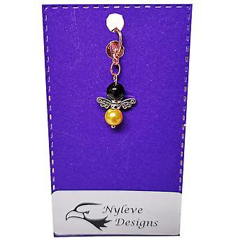 Nyleve Designs handmade Rose Gold Bee Charm