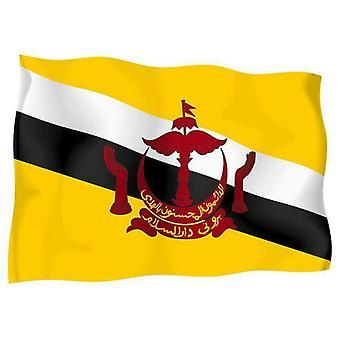 Sticker Autocollant Drapeau Exterieur Vinyle Voiture Moto Brunei Bruneien