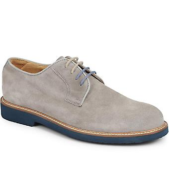 Walter suede derby shoe with vibram sole
