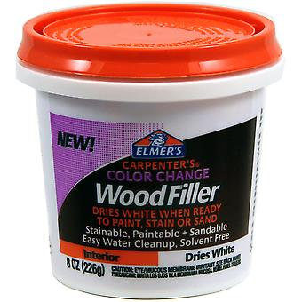 Elmer's Color Change Wood Filler 8oz-White E916