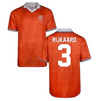 Score Draw Holland World Cup 1994 Home Shirt (Rjikaard 3)