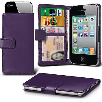 ( Dark Purple +Earphones) Case For Xiaomi Redmi Pro Standard Edition Faux Leather Holdit Adjustable Wallet Xiaomi Redmi Pro Standard Edition Cover By i-Tronixs
