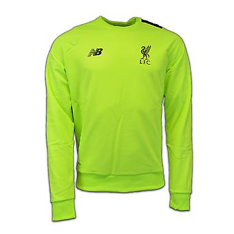 2016-2017 Liverpool Pro Training Sweat Top (Toxic) - No Sponsor
