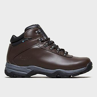 New Hi-Tec Men's Eurotrek III Waterproof Walking Boots Brown