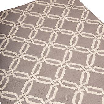 Linear Rugs Lin08 In Silver
