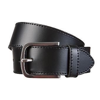 BERND GÖTZ belts men's belts leather belt leather black 646