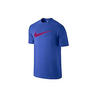 Nike Chest Swoosh T-Shirt Herren blau 696699-482