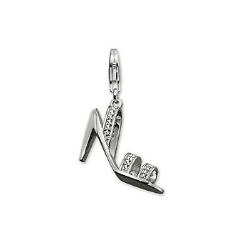 ESPRIT pendant of charms silver cubic zirconia high heel XL ESZZ90543A000
