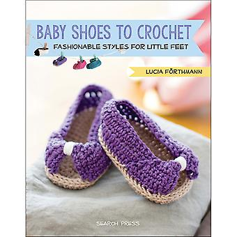 Search Press Books-Baby Shoes To Crochet SP-13574