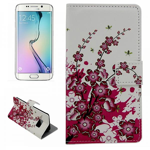 Cover wallet pattern 6 for Samsung Galaxy S6 edge G925 G925F