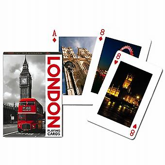 London Sights set of playing cards    (gib)