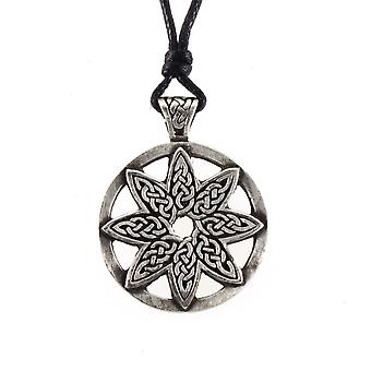 Handgemaakte Keltische elementen van leven tinnen hanger