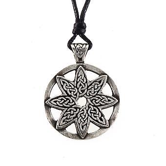 Handgjorda keltiska element liv tenn hänge