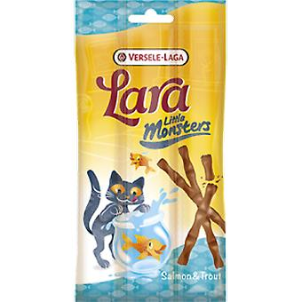 Versele Laga Lara Little Monster Stick Salmon & Trout 15 Grs. (Katten , Snacks , Sticks)