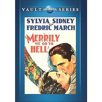 Merrily We Go to Hell [DVD] USA import
