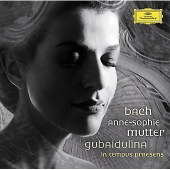 Gubaidulina/Bach - Bach: Violinkonserter; Gubaidulina: I Tempus Praesens [CD] USA import